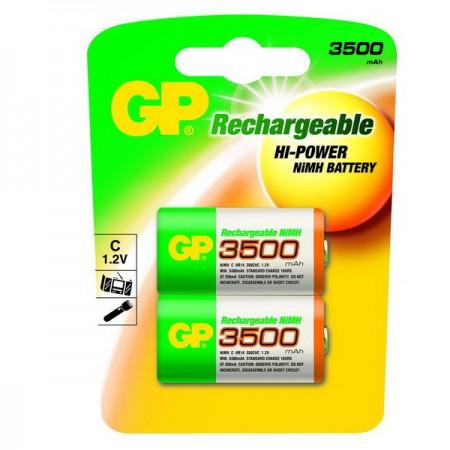 GP NiMH baby akkumulátor (C) 3500mAh 2db-os