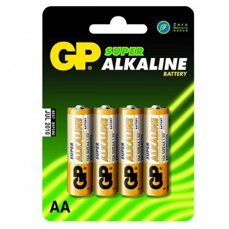 GP Super alkáli ceruza elem (AA) 15A 4db-os