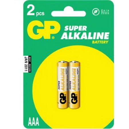 GP Super alkáli mikro ceruza elem (AAA) 24A 2db-os