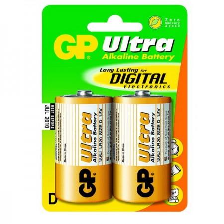 GP Ultra alkáli góliát elem (D) 13AU 2db-os