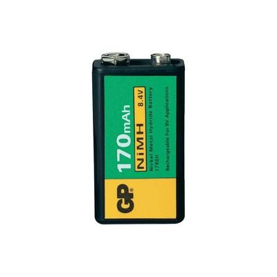 GP NIMH 9V akkumulátor 170mAh