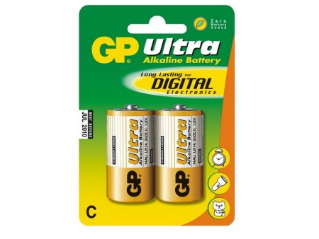 GP Ultra alkáli baby elem (C) 14AU 2db-os