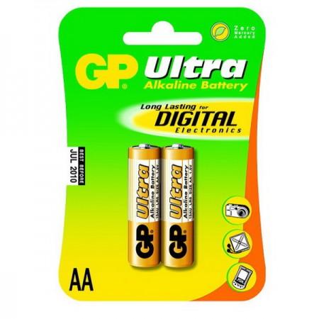 GP Ultra alkáli ceruza elem (AA) 15AU 2db-os