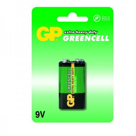 GP Greencell 9V elem 1604G 1db-os
