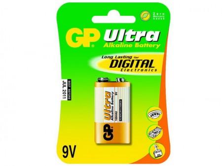 GP Ultra alkáli 9V elem 1604AU 1db-os