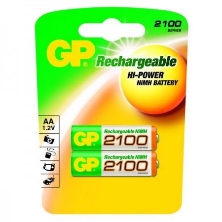 GP NiMH ceruza akkumulátor (AA) 2100mAh 2db-os