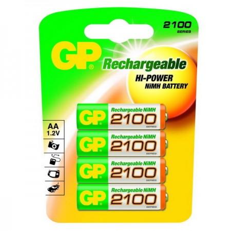 GP NiMH ceruza akkumulátor (AA) 2100mAh 4db-os