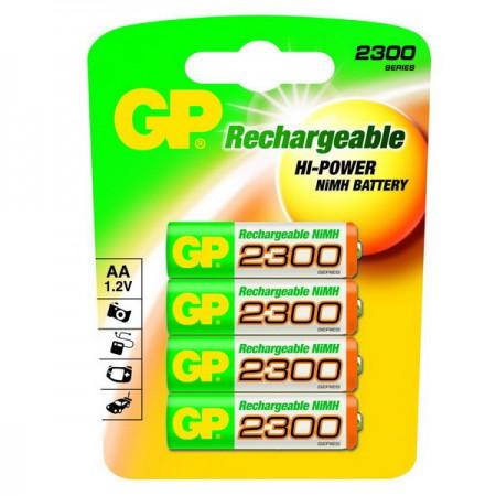 GP NiMH ceruza akkumulátor (AA) 2300mAh 4db-os
