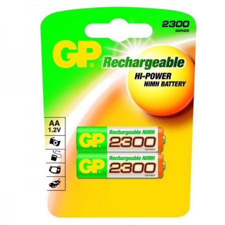 GP NiMH ceruza akkumulátor (AA) 2300mAh 2db-os