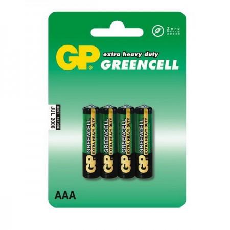 GP Greencell mikro ceruza elem (AAA) 24G 4db-os
